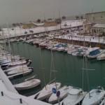 Saint Martin de Ré sous la neige (05/02/2012)