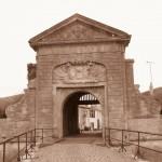 Porte des campagnies (vue de l'extérieur)